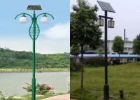 Stalp cu panou fotovoltaic